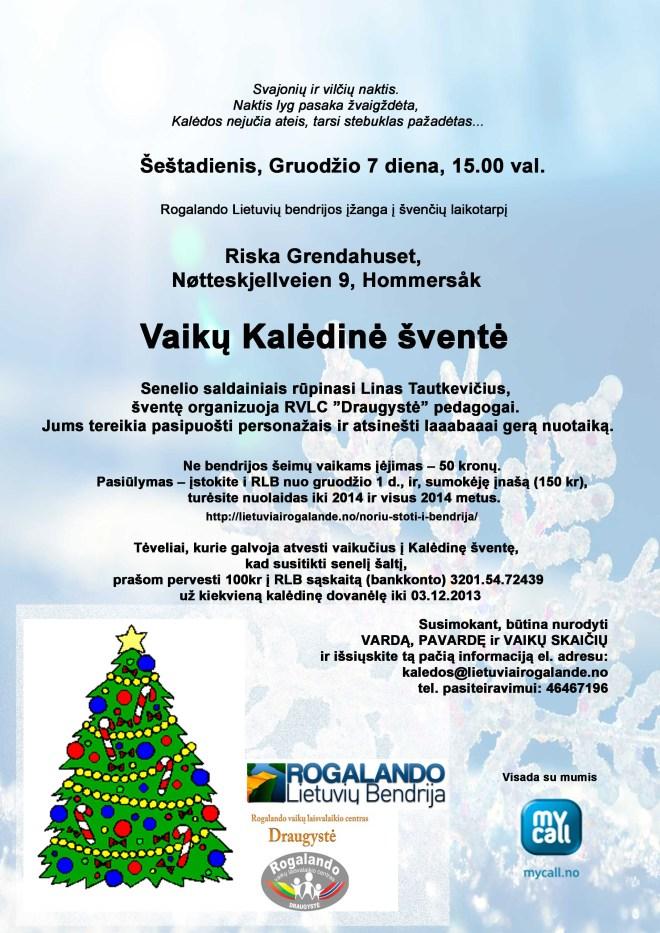 KaleduSventeVaikams2013