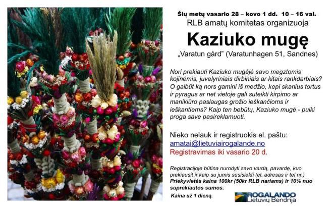 KaziukoMuge2015