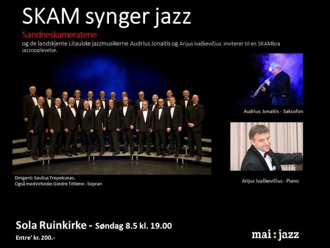 Utkast til Flyer til Jazzkonsert 8.5.16 v.2